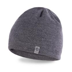 Zimowa czapka męska szara