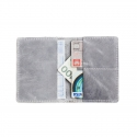 Szary portfel slim wallet brodrene sw01