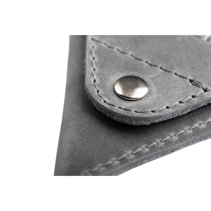 688d9458f121b ... Ciemno brązowa skórzana bilonówka coin wallet brodrene cw01 ...