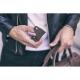 Ciemno brązowa skórzana bilonówka coin wallet brodrene cw01