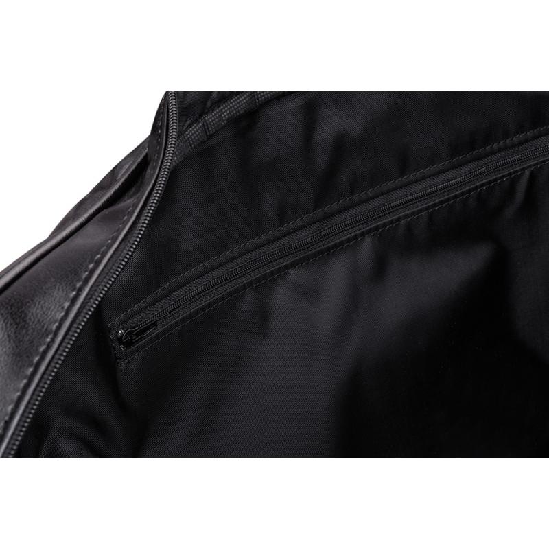 b18b61292eec5 Stylowa męska torba podróżna weekend czarna solier s16 - Gentle Man