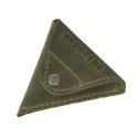 Zielona skórzana bilonówka coin wallet brodrene cw01