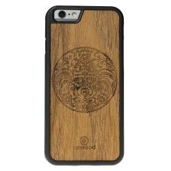 Drewniane etui iPhone 6/6S Wycinanka Łowicka Vibe
