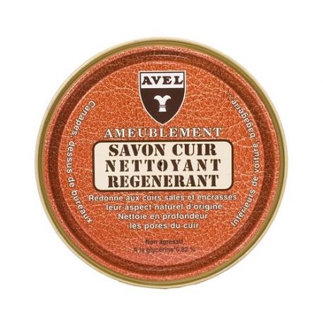 Mydło regenerujące do skór avel lthr soap do mebli i tapicerki 200ml