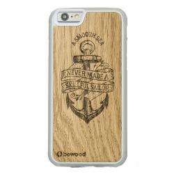 Drewniane etui iPhone 6/6S Kotwica Przezroczysty Vibe