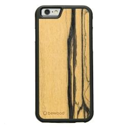 Drewniane etui iPhone 6/6S Heban Biały Limitowany