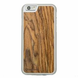 Drewniane etui iPhone 6/6S Palisander Przezroczysty Vibe