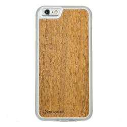 Drewniane etui iPhone 6/6S Tek Przezroczysty Vibe