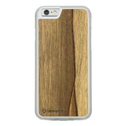 Drewniane etui iPhone 6/6S Limba Przezroczysty Vibe