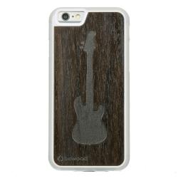 Drewniane etui iPhone 6/6S Gitara Przezroczysty Vibe