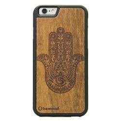 Drewniane etui iPhone 6/6S Hamsa Imbuia