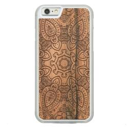 Drewniane etui iPhone 6/6S Mandala Przezroczysty Vibe