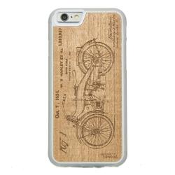Drewniane etui iPhone 6/6S Harley Patent Przezroczysty Vibe