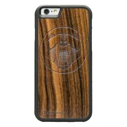 Drewniane etui iPhone 6/6S Niedźwiedź Geometric Animals