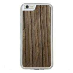Drewniane etui iPhone 6/6S Orzech Ciemny Przezroczysty Vibe