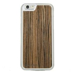 Drewniane etui iPhone 6/6S Oliwka Afrykańska Przezroczysty Vibe