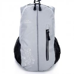 Szary damski sportowy plecak travel