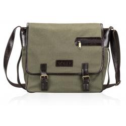 Skórzana torba na ramię solier SL12 hike