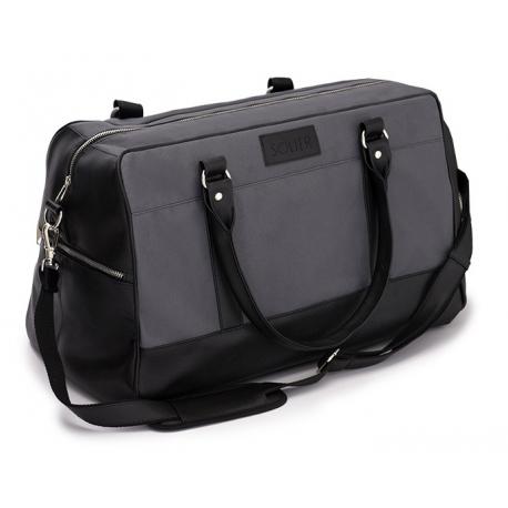 299cbdd446abc Sportowa czarno szara torba weekendowa podróżna walizka solier s18 ...