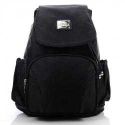 Czarny plecak damski bag street