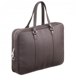 Brązowa torba męska na laptopa na ramię