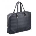 Skórzana torba na laptopa i dokumenty sempertus czarna