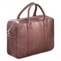 Skórzana torba biznesowa na laptopa