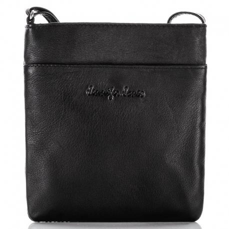 Mała czarna torebka damska