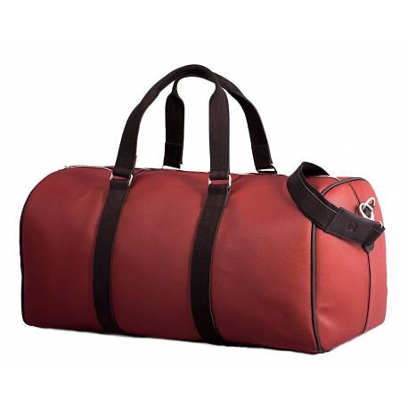 Podróżna torba weekendowa brodrene ml40 bordowa
