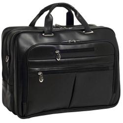 Męska torba podróżna rockford skóra czarna