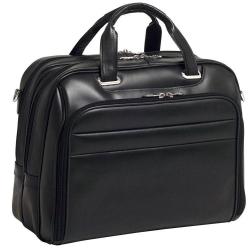Meska torba na laptopa springfield skóra czarna