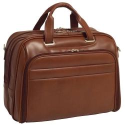 Męska torba na laptopa springfield skóra brąz