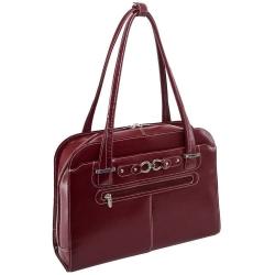 Klasyczna czerwona torebka damska