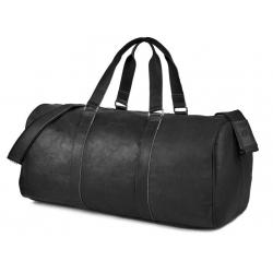 Czarna podróżna torba weekendowa brodrene bl40