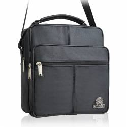 4d77fb1a793a0 Czarna męska torba na ramię skórzana betlewski btg-04 ...