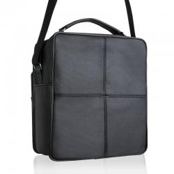 c249b43d58687 ... Czarna męska torba na ramię skórzana betlewski btg-04