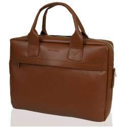 Elegancka torba na ramię brodrene b03 jasny brąz