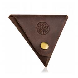 Skórzany mały portfel bpm-ht m0 betlewski brązowy