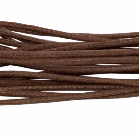 Cienkie okrągłe woskowane sznurowadła tarrago 2 mm