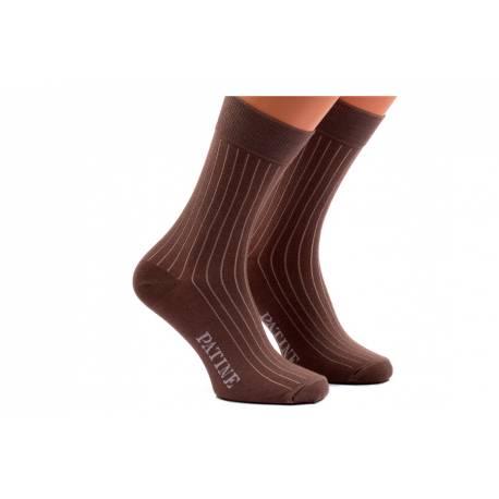 Męskie skarpety socks patine kamel