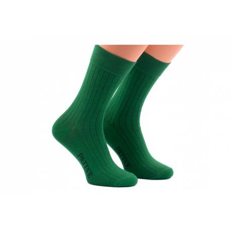 Zielone męskie skarpety socks patine