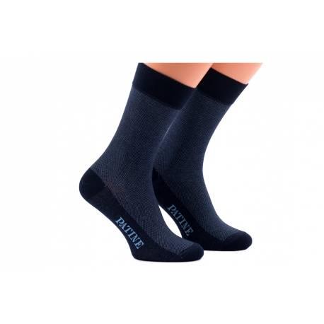 Męskie granatowe skarpetki patine socks
