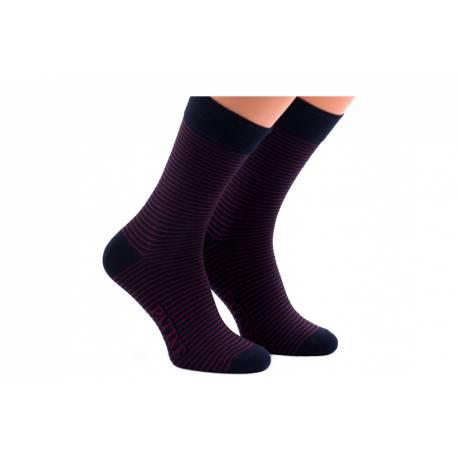 Męskie skarpety w paski poziome patine socks
