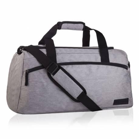 Szara torba na trening epo-4838 szara