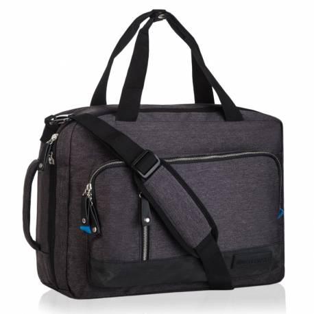Stylowa torba na laptop betlewski epo-4077 czarny