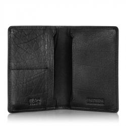 Super cienki portfel z ochroną rfid brodrene sw-s1 czarny