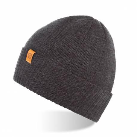Męska czapka zimowa brodrene cz8 ciemnoszara