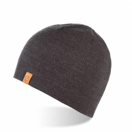 Zimowa czapka męska brodrene cz1 ciemnoszara
