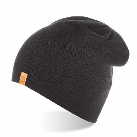 Zimowa czapka beanie brodrene cz4 czarna