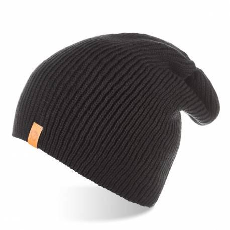 Męska zimowa czapka smerfetka brodrene cz7 czarna